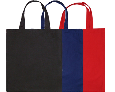 Colour Calico Bags Short Handle