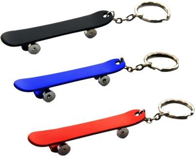 Skateboard Key Ring