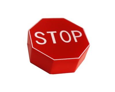 Stress Stop Sign
