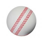 Stress Cricket Ball White