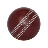 Stress Cricket Ball Burgundy