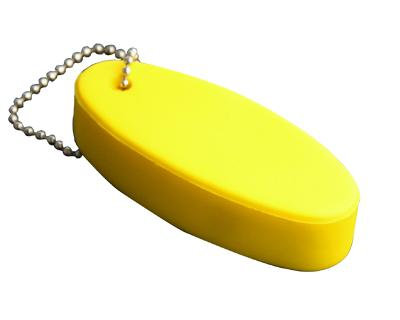 Floating Keyring Yellow