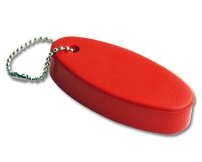 Floating Keyring Red