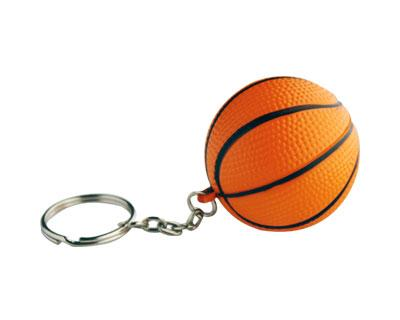 Basket Ball Keyring