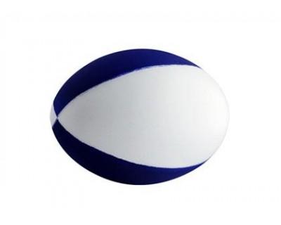 Football Blue & White (4 Panels)