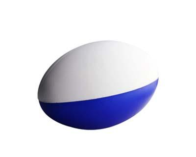 Stress Football Blue & White (2 Panels)