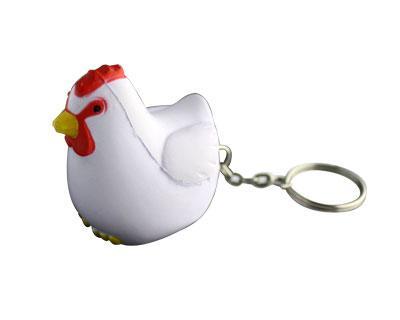 Stress Rooster Keyring