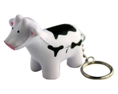 Stress Cow Keyring