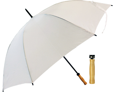 Budget Umbrella (All White)