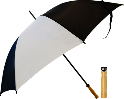 Budget Umbrella (Black-White)
