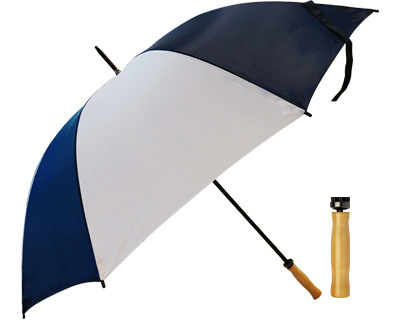 Budget Umbrella (Navy-White)
