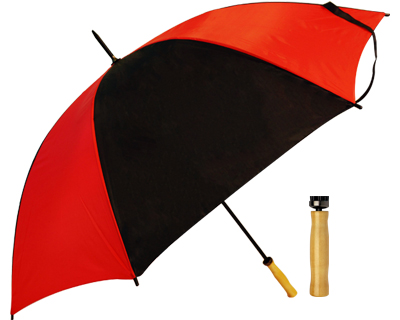 Budget Umbrella (Red-Black)