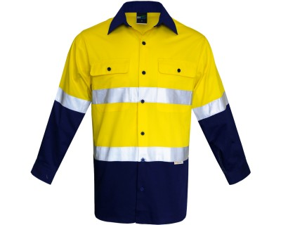 Hi-Vis D+N 150G Work Shirt