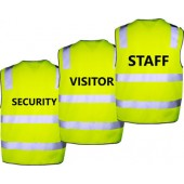 Hi-Vis Safety Vest Lime