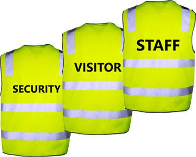 Hi-Vis Safety Vest Lime
