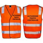 Hi-Vis Safety Vest Orange